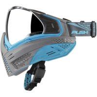 Push Unite Paintball Maske (grau / blau)