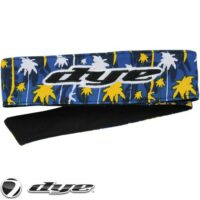 DYE C14 Paintball Head Band/Head Tie (Cali Gold)