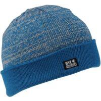 DYE Shredded Heather Beanie Paintball Hat (blue / gray)