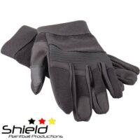 Shield A.R. Gloves Paintball Handschuhe (schwarz)