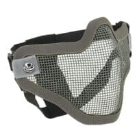 Paintball / Airsoft Face Mask C.O.D. Style (grau)