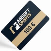 Airsoft Sports Geschenkgutschein / Gutscheinkarte (100,- Euro)