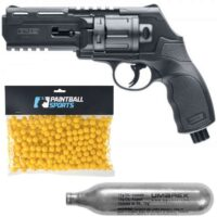 Umarex HDR 50 Paintball Revolver Players Pack (schwarz)