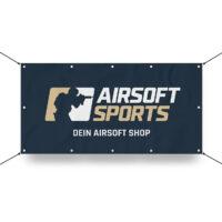 Airsoft Sports Werbebanner 130x70cm (Dein Airsoft Shop)