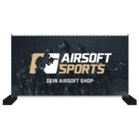 Airsoft Sports Bauzaun-Werbebanner 340x173cm (Laser Trooper)