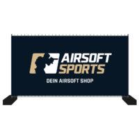 Airsoft Sports Bauzaun-Werbebanner 340x173cm (Dein Airsoft Shop)