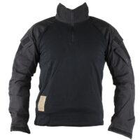 Delta Six Tactical Oberteil Frog Suit / Combat Shirt V3 mit Protectoren (schwarz)