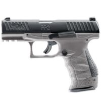 Walther PPQ M2 T4E RAM Paintball Pistole (Cal. 43) - Tungsten grey