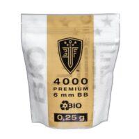 Elite Force BIO Airsoft BB´s Im Zipper Beutel (4000stk) 0,25g
