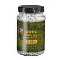 Elite Force Premium Airsoft BB´s im Behälter (3000stk) 0,20g