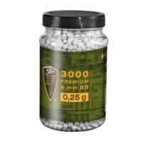 Elite Force Premium Airsoft BB´s im Behälter (3000stk) 0,25g