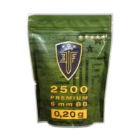 Elite Force Premium Airsoft BB´s im Zipper Beutel (2500stk) 0,20g