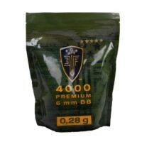 Elite Force Premium Airsoft BB´s im Zipper Beutel (4000stk) 0,28g