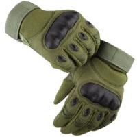 Delta Six ProTac V1 Combat Gloves / Taktische Vollfinger Handschuhe (oliv)