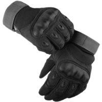 Delta Six ProTac V1 Combat Gloves / Taktische Vollfinger Handschuhe (schwarz)