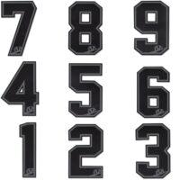 Virtue Nummern Patch (grau)